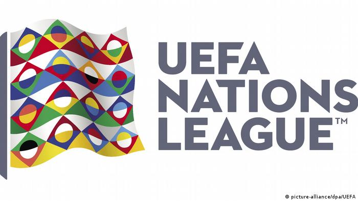 Logo UEFA Nations League (picture-alliance/dpa/UEFA)