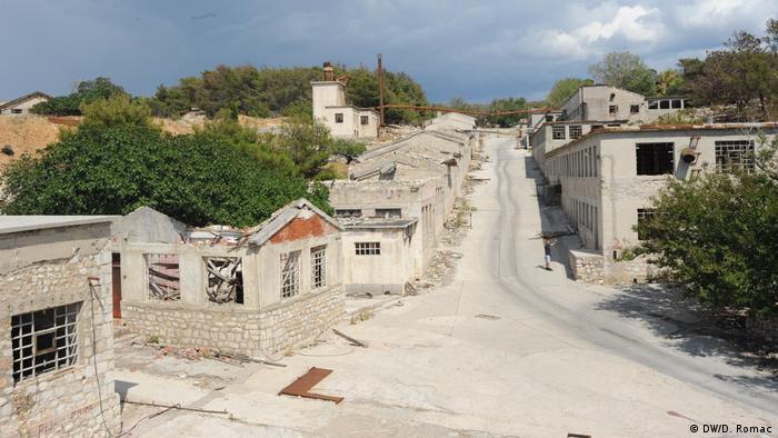 Kroatien, Goli otok: Der ehemalige Gefängnis-Komplex