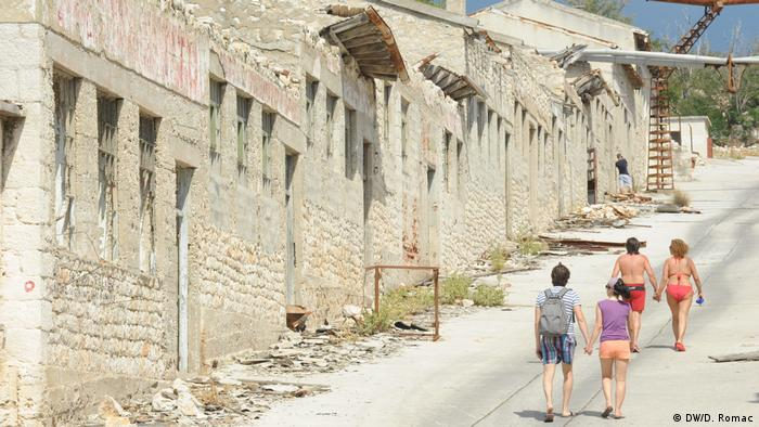 Kroatien, Goli otok: Der ehemalige Gefängnis-Komplex (DW/D. Romac)