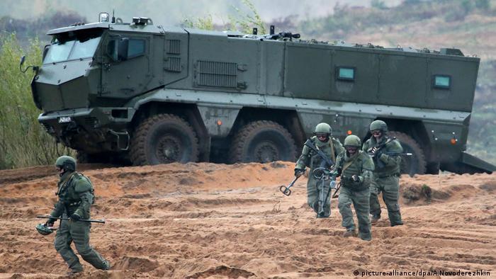 Russland Manöver Militär Russland Belarus