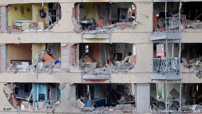 Bombenanschlag in Burgos Flash-Galerie (AP)
