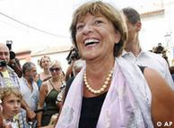 Ulla Schmidt sonríe (todavía).