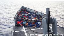 Queen Sofia Schiff Fregatte Spanien Seenot