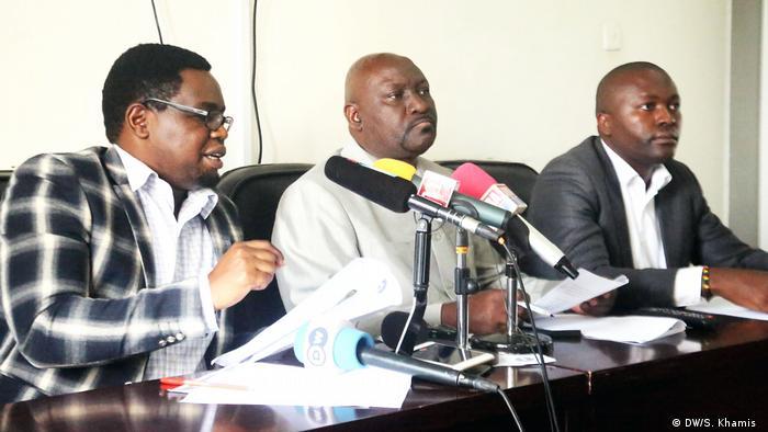 Tansania Pressekonferenz zu Übegriffen auf Journalisten