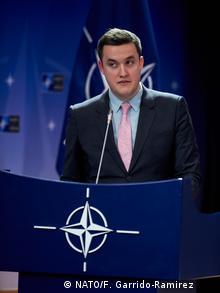 NATO speaker Dylan White