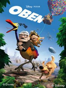 Kinoplakat 'Up!' ('Oben') (Disney)