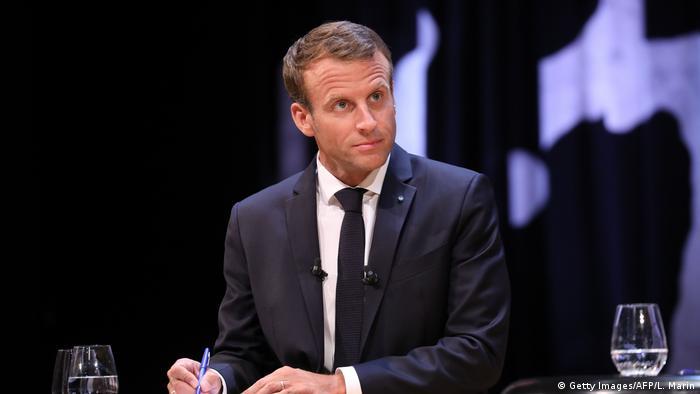 President Emmanuel Macron in Denmark (Getty Images/AFP/L. Marin)