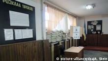 Ukraine Marjinka Schule in der Ostukraine