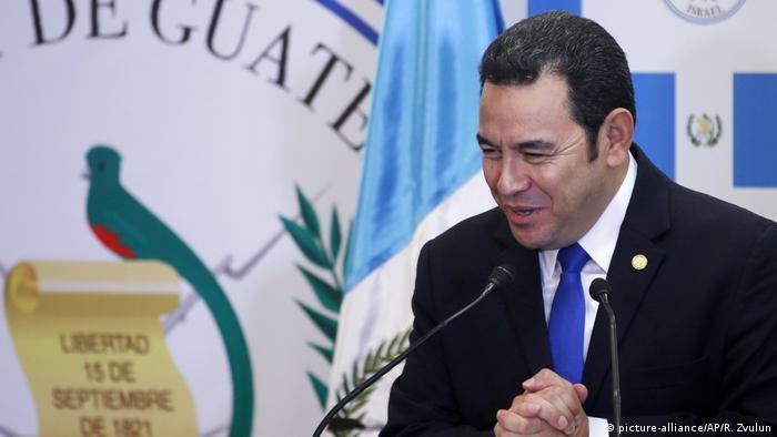 Guatemala Präsident Jimmy Morales droht erneut Prozess
