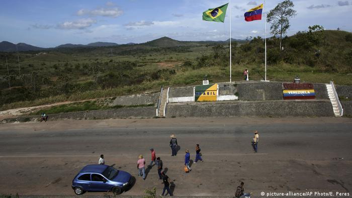 Brasilien Grenze zu Venezuela