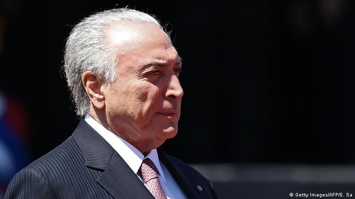 Brasilien Michel Temer (Getty Images/AFP/E. Sa)