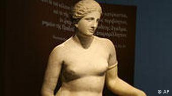 Ausstellungstipps vom 31.07.2009 Frau in der Antike