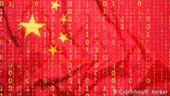 China Symbolbild Hacker