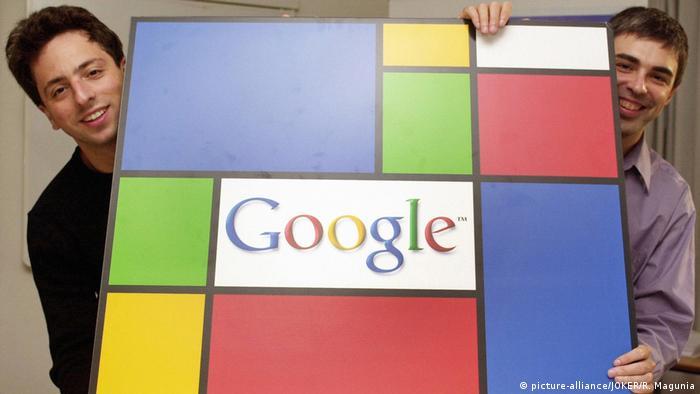 USA Google-Gründer Sergey Brin und Larry Page (picture-alliance/JOKER/R. Magunia)