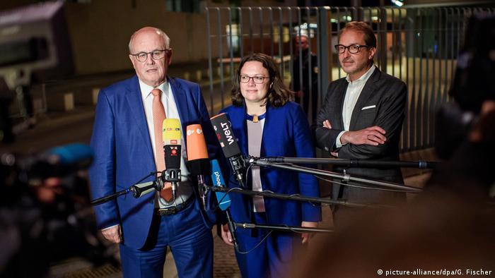 Deutschland Koalitionstreffen zu Rentenpaket (picture-alliance/dpa/G. Fischer)