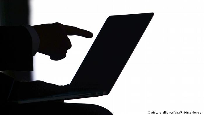 Cybersicherheit Symbolbild (picture-alliance/dpa/R. Hirschberger)