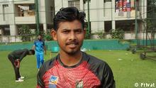 Description: Mosaddek Hossain, a Bangladeshi cricket player Keywords: Bangladesh, cricket, Mosaddek Hossain, cricketer, sports
