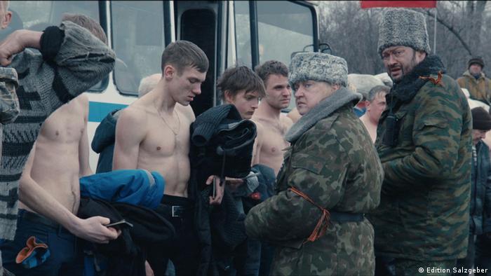 Сцена из фильма Донбасс