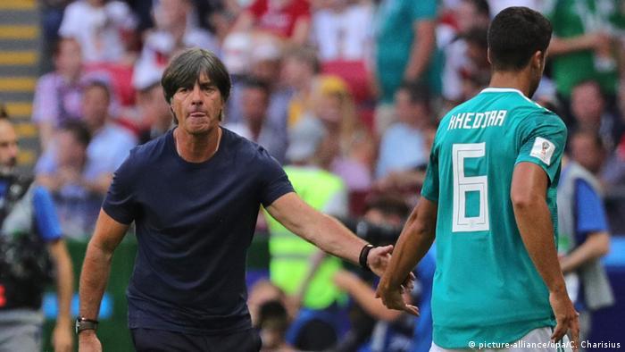 Russland WM 2018 Joachim Löw und Sami Khedira