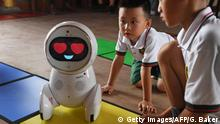 China Roboter Kindergarten Keeko