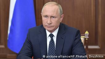 Телеобращение Владимира Путина