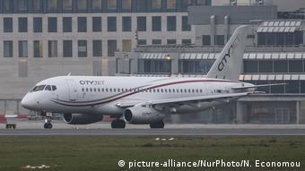 Sukhoi Superjet 100 авиакомпании CityJet