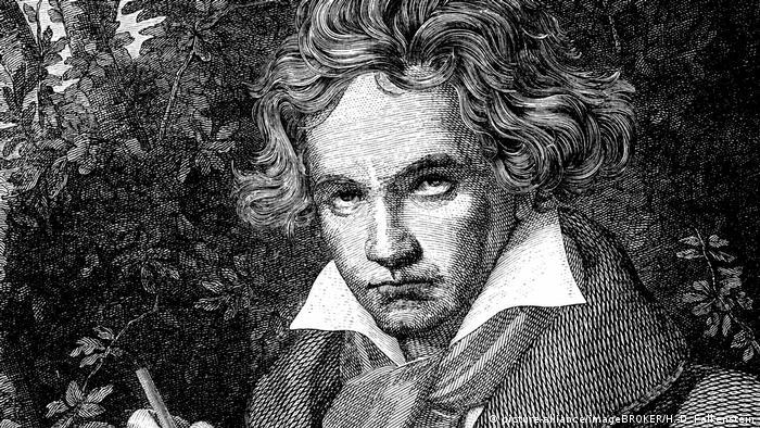 Deutschland Portrait von Ludwig van Beethoven