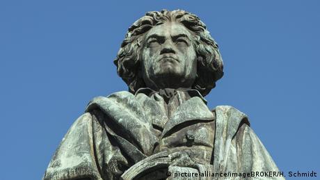 Deutschland Beethovenstatue Bonn