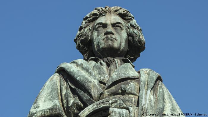 Beethoven memorial statue in Bonn