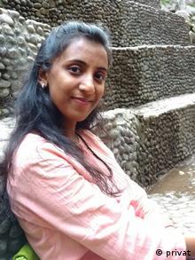 Indien Shalini Nair Journalistin