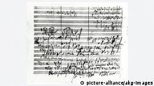 A sketch of Beethoven's fifth symphony