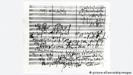 Anotações de Beethoven sobre a Sinfonie Nº 5