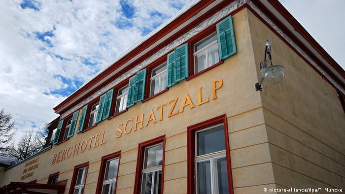 Schweiz Schatzalp bei Davos (picture-alliance/dpa/T. Muncke)