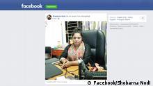 Screenshot Facebook Shobarna Nodi