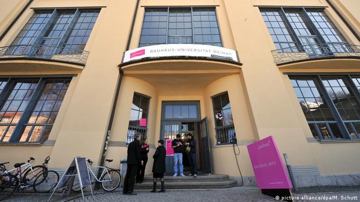 Bauhaus-Universität in Weimar zum Bauhaus-Jubiläum