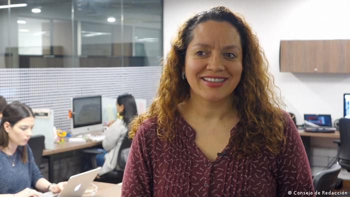 Novinarka iz Kolumbije Dora Montero