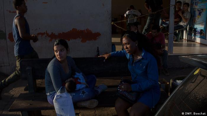 Venezuelanos em Pacaraima
