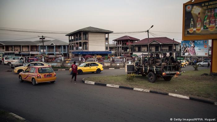 Kamerun Buea - Unruhen