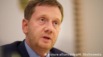 Kabinetts-Pressekonferenz mit Michael Kretschmer