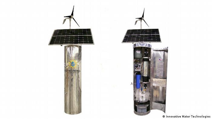 SunSpring Hybrid Trinkwasserfilter der Firma Innovative Water Technologies