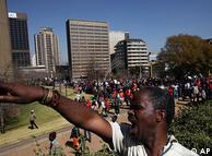 Streik 2009  (Bild: AP)