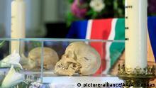 Deutschland Rückgabe sterblicher Überreste aus Deutscher Kolonialzeit