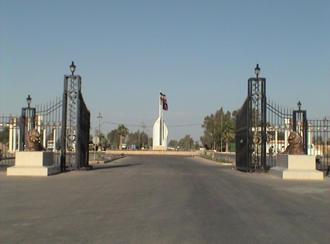 اردوگاه اشرف در ۸۰ کیلومتری بغداد