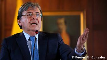 Carlos Holmes Trujillo, ministro colombiano de RR. EE.
