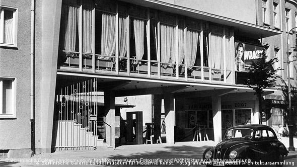 Das Filmtheater ODEUM mit der Milchbar Esplanade Flash-Galerie