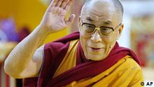 Deutschland Tibet Dalai Lama in Frankfurt