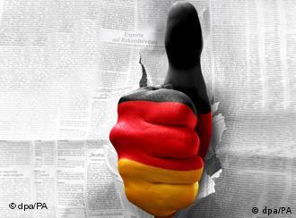 Symbolbild Deutschland Optimismus