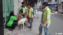 People for Animal Welfare (PAW) Foundation, an organisation of animal rights activists, in Bangladesh