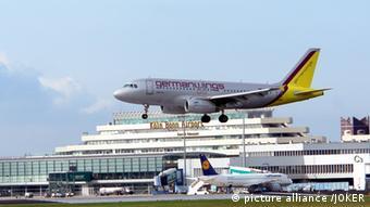 Flugzeug am Köln/Bonner Flughafen