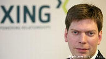 Deutschland Internet Lars Hinrichs Gründer von XING